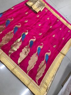 Raani Sana Bhahubali Silk Saree With Blouse