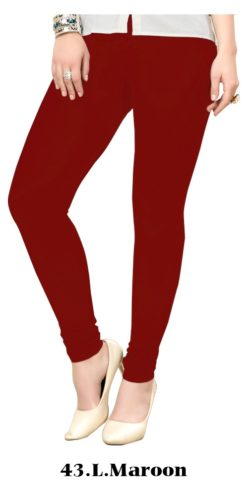 Light Maroon Color Wholesale Legging