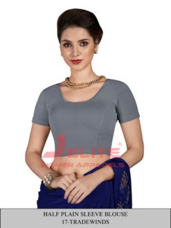 Trade Winds Half Plain Sleeves Readymade Blouse Wholesale
