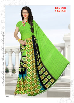 Soft Georgette Wholesale Saree With Blouse