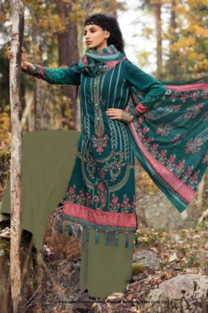 Pure Lawn Pakistani Dress Material Color Jelly Bean Code 1022